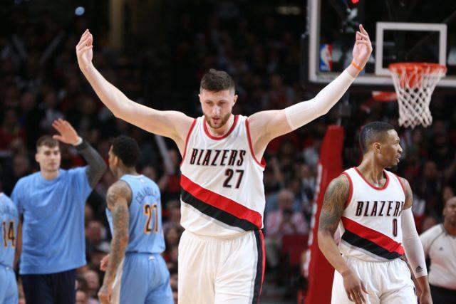 Blazers Top 10 Centers